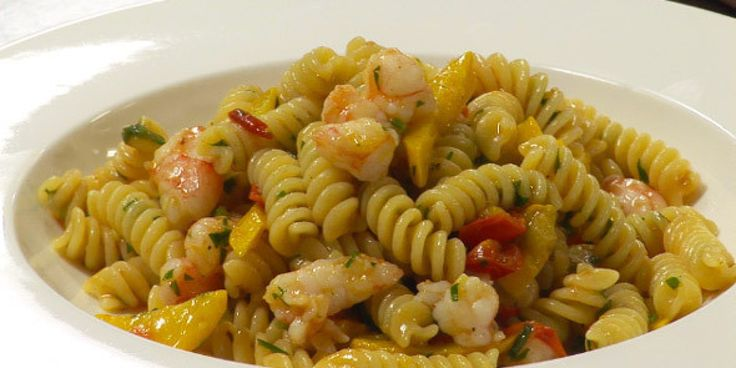 Recipe of the Week: Fusilli With Prawns, Courgettes, Datterini Tomatoes, Parsley and Garlic