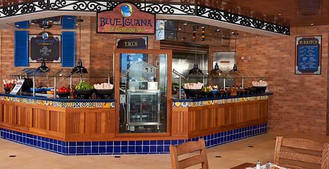 The BlueIguana Cantina is currently on the Carnival Fantasy.