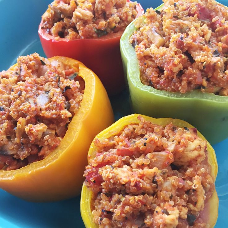 Italian Stuffed Peppers by Clean Eats & Treats
