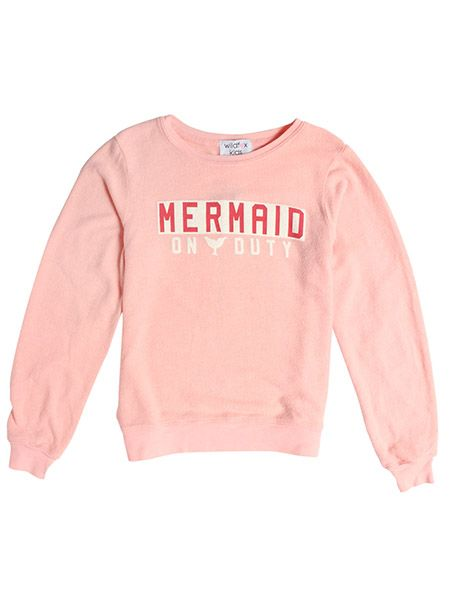 Wildfox Couture Junior Girls' [10-14] Mermaid Sweater | Camp & Cottage | Sporting Life