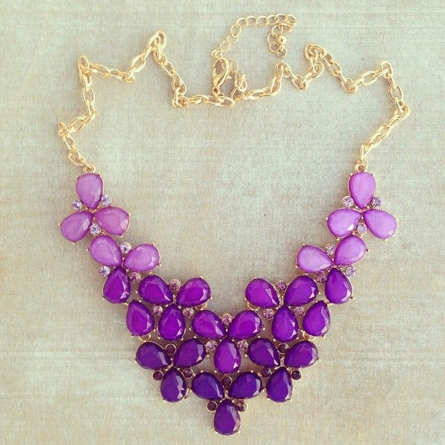 Purple Necklace for Disgust