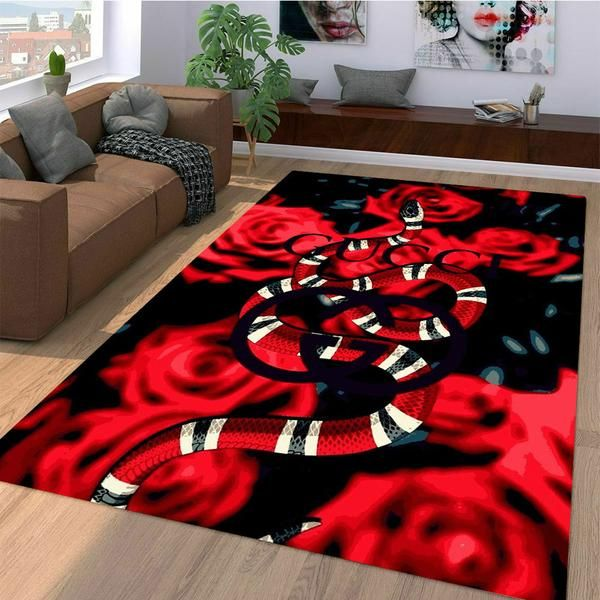 40302333 roses gucci snakes Living room carpet rugs in 2019 | Dope Board ...