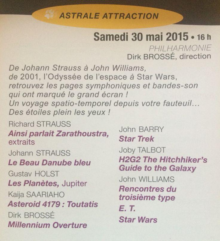 Mon 1er concert à la Philharmonie de Paris. Hier matin, il ne restait plus que 20 places de libre.  Super programme !