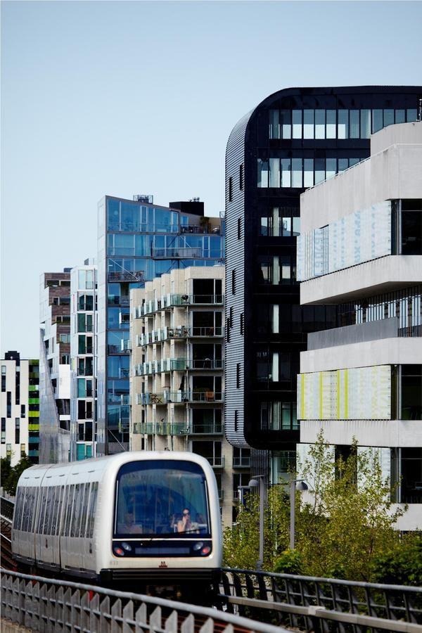 Ørestaden #Copenhagen #Denmark,I use the metro all the time /only 12 minute to Centre of Copenhagen;yeah.....