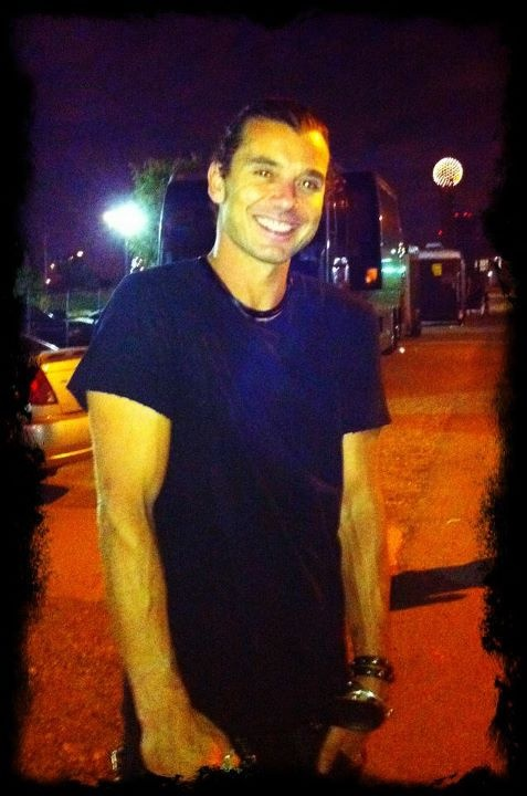 Gavin Rossdale. This guy....