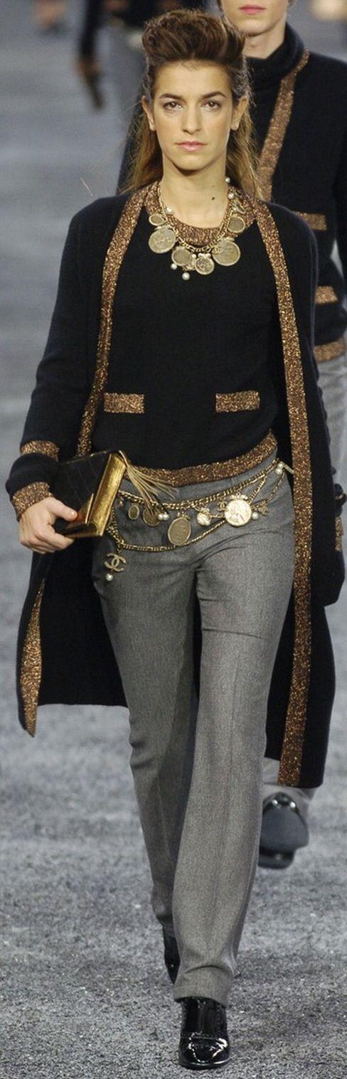 Chanel ~ Fall Black + Gold