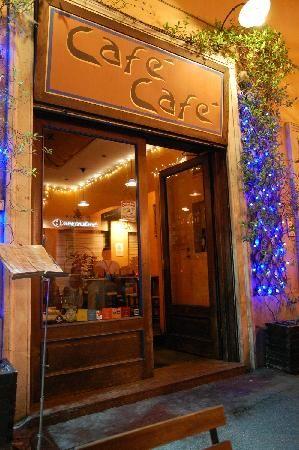 cafe cafe. rome