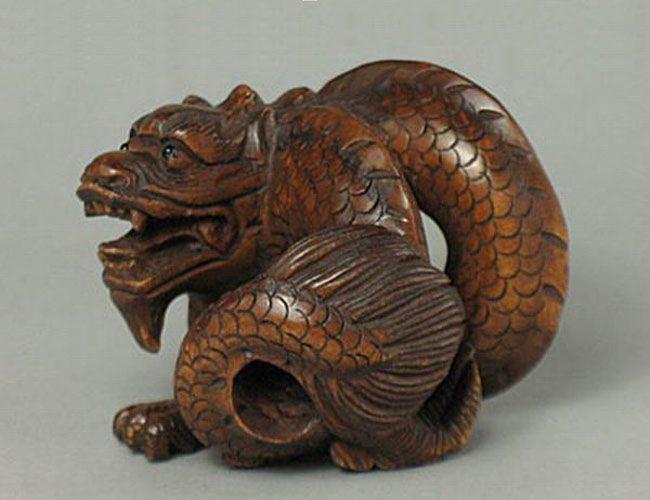 Best wood figurine images on pinterest japanese art