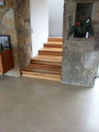 What is the Livos Non Toxic Floor finish like?  The livos non toxic oils are suitable for all types of timbers as well as concrete and porous stones, these natural oils are easy to maintain and develop a warm and luscious sheen to the surface while providing full protection from everyday living.
