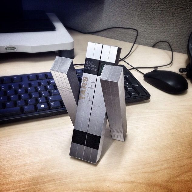Interstellar papercraft!