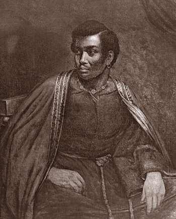 A biography of ira alridge and his role as shakespearean actor