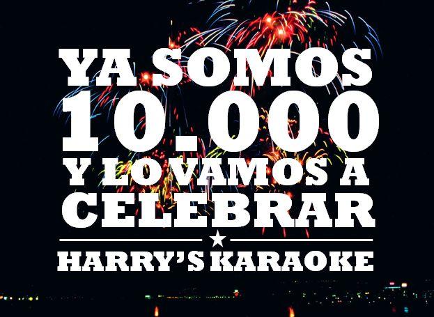 Flyer 10.000 Seguidores  Harrys