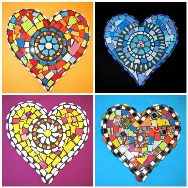 mosaics--February Art- pair with a reading of the book about St Valentine that has mosaics for its illustrations!