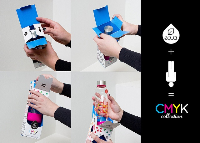 EQUA SQUEEZE packaging