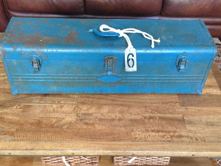 Great uses for old tool boxes!