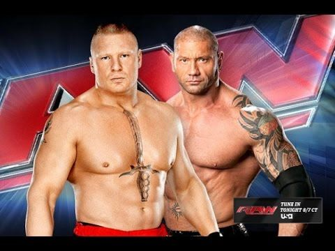 Wrestling Batista & brock Lesnar NEW Fight