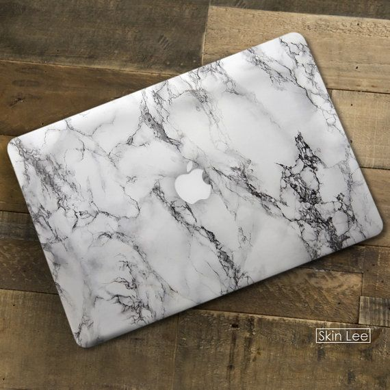 MARBLE MAC Decal Mac Sticker Mac Book Pro Case Mac Book by SkinLee