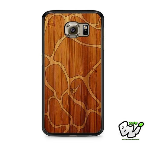 Giraffe Pattern Brown Skin Samsung Galaxy S7 Case