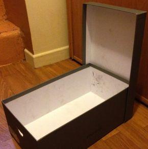 Transformez Facilement vos Boîtes à Chaussures en Jolis Porte-documents.