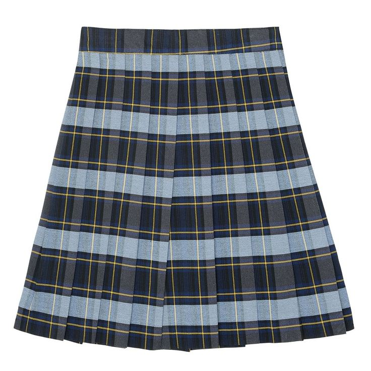 Girls 4-20 & Plus Size French Toast School Uniform Plaid Pleated Skirt, Size: 18 Plus, Blue Other