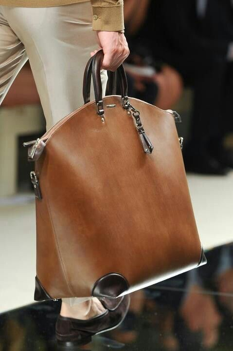 The nicest MURSE (man purse) ever!   Zegna bag.