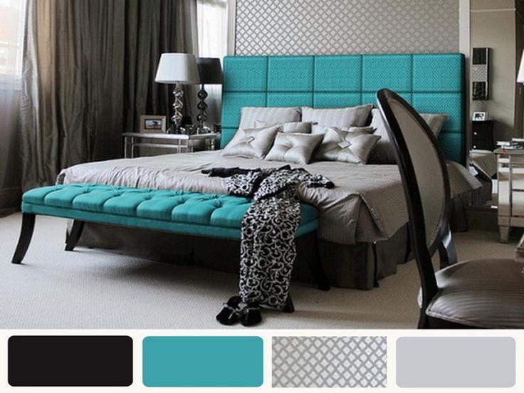 90 best Color...Aqua/Turqoise, Black & Gray images on Pinterest ...