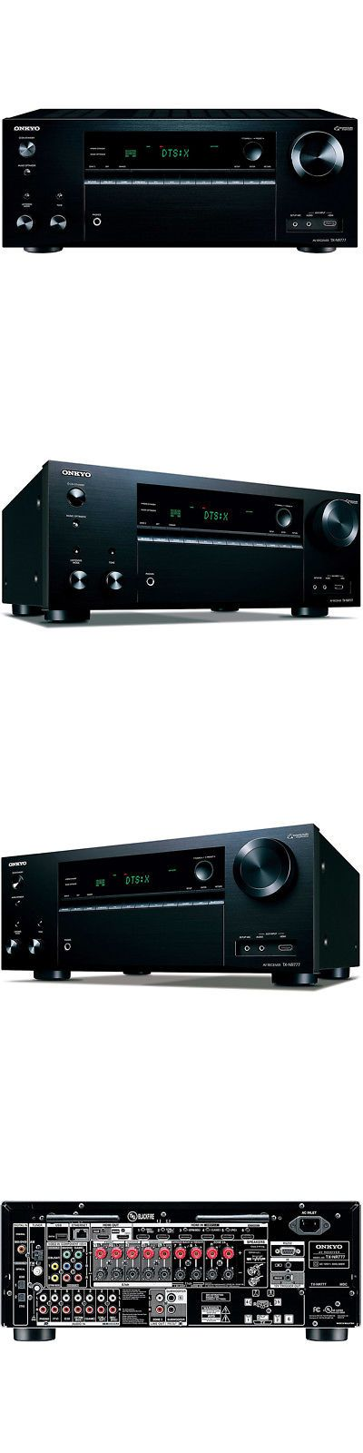 Home Theater Receivers: Onkyo Tx-Nr777 7.2 Ch Network Av Receiver W 7 Hdmi Inputs And Wifi In Black -> BUY IT NOW ONLY: $597.36 on eBay!