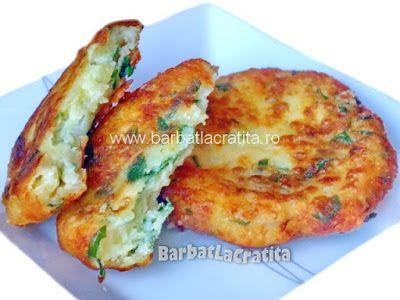 Chiftele de cartofi cu brânză