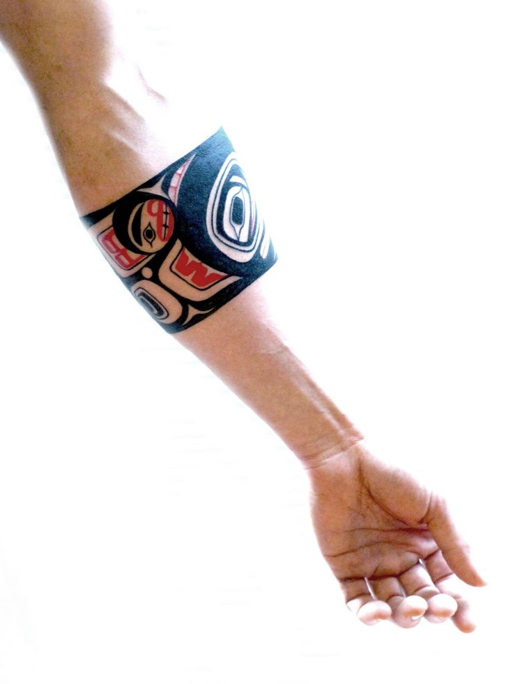 haida tattoos - Bing Images  Seriously want a salmon here!
