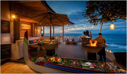 The Bukit has some of the most picturesque views and landscapes and now...  some of the finest dining on the island! Here are a few of our hand picked  favourites...