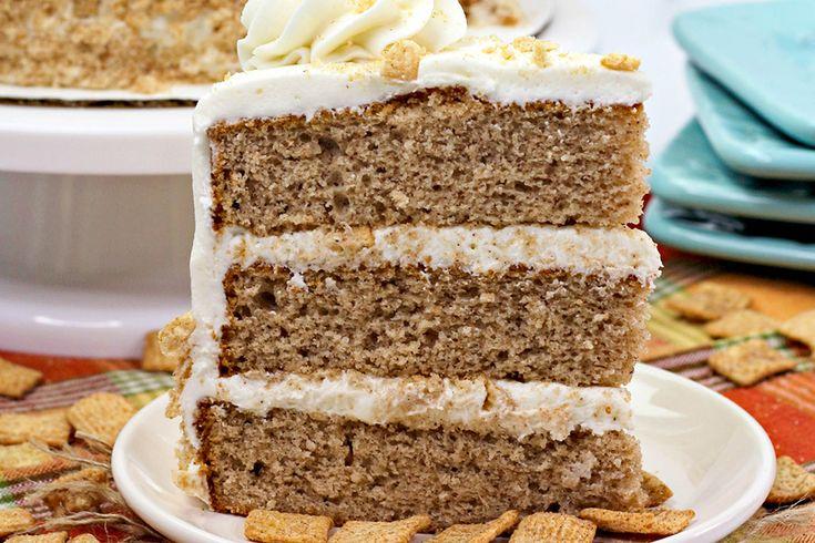 Cinnamon toast crunch cake recipe in 2020 crunch cake