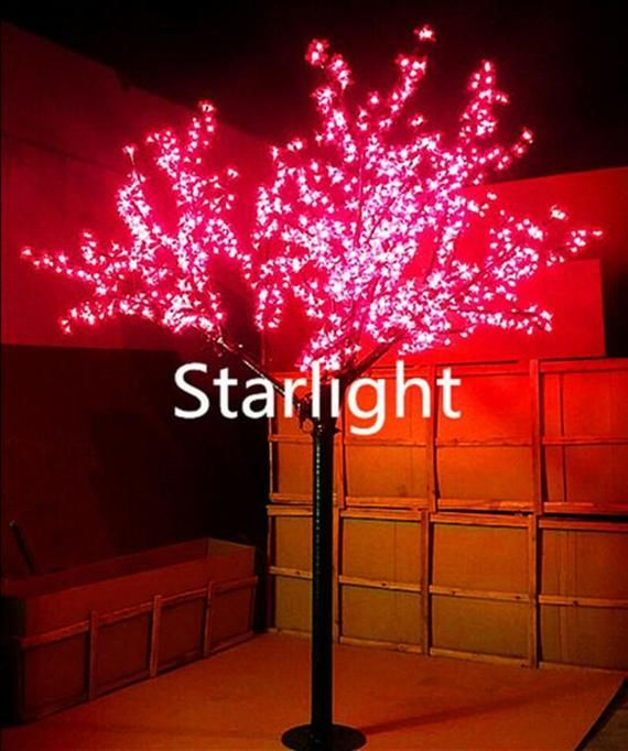480pcs Leds Cherry Blossom Tree Light 5ft 1 5m Height Christmas Light Outdoor Usage Wedding Holiday And Home Decoration Rainproof In 2020 Tree Lighting Cherry Blossom Tree Blossom Trees