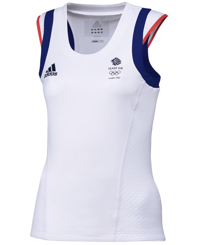 Adidas Team GB Olympic 2012 - Tennis Tank by Stella McCartney