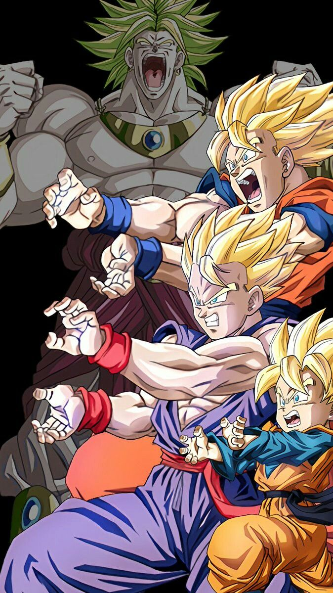 Family Kamehameha Dragon Ball Dragon Ball Z Dragon