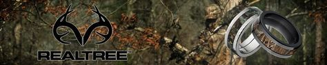 Realtree Camouflage Rings, Camo Wedding Rings, Realtree Camo Bands -TheJewelrySource