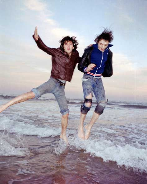 Carl & Pete of The Libertines