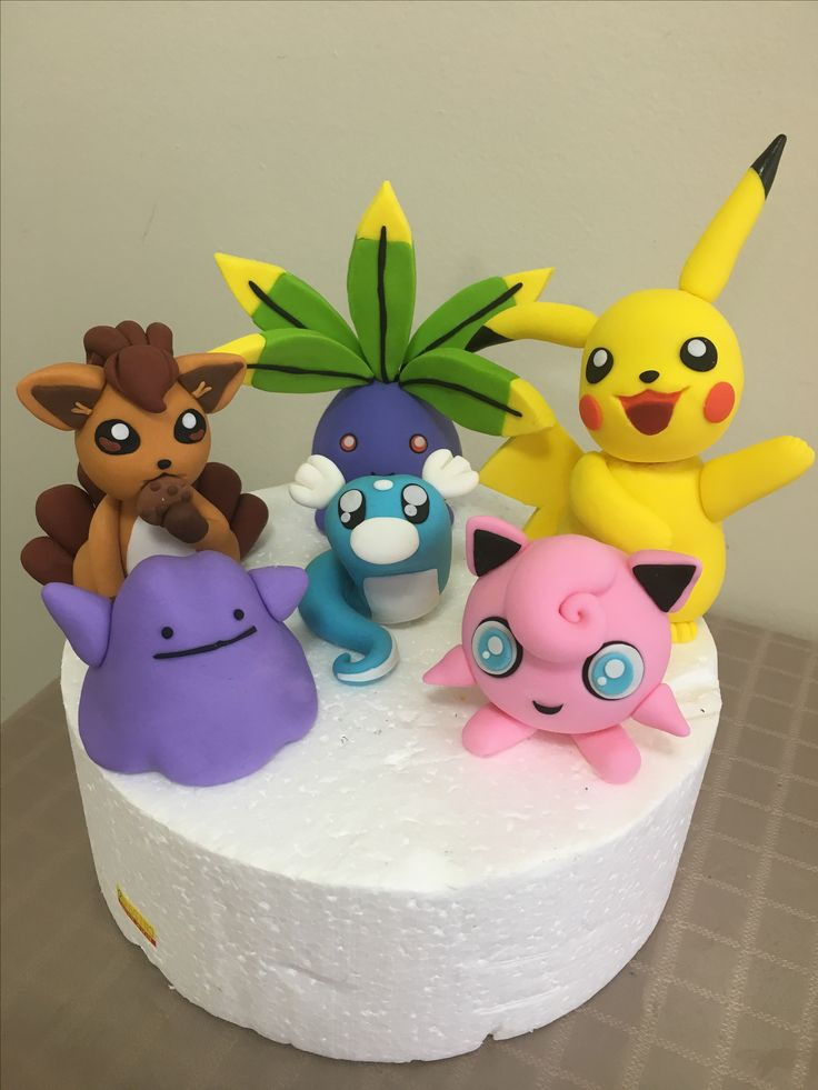 Pokemon fondant Scarborough North York