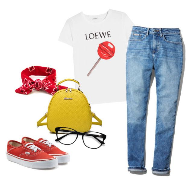 2 by vanessa-fuentes-salas on Polyvore featuring moda, Loewe, Calvin Klein, Vans, WithChic and EyeBuyDirect.com