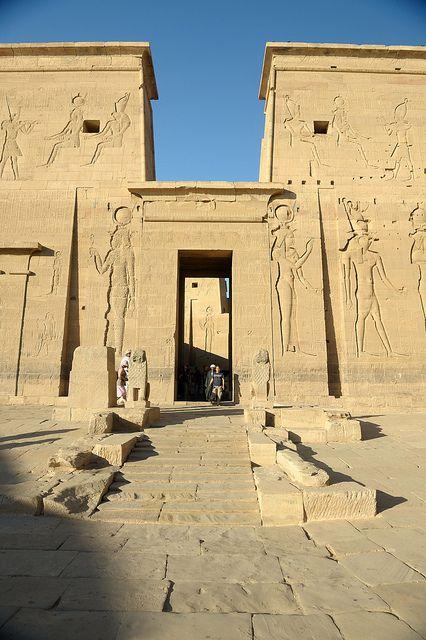 Podemos observar el templo , lugar de los ritos sa…