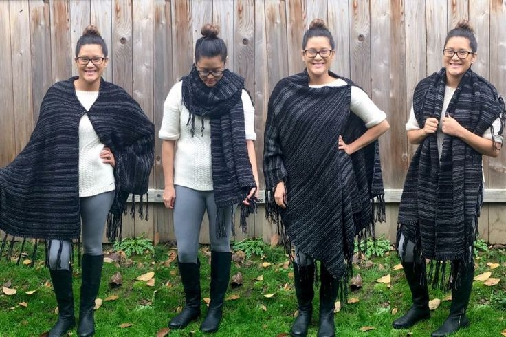 LuLaRoe Mimi !! So versatile perfect knit cozy wrap poncho shawl scarf