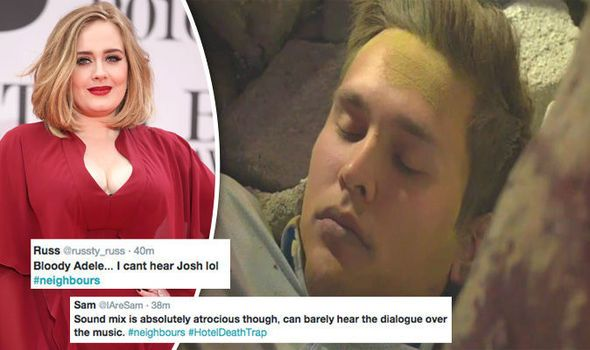 VIEWERS were in uproar as Neighbours producers chose to play Adele's When We Were Young as Josh Willis said an emotional goodbye to his daughter Matilda.