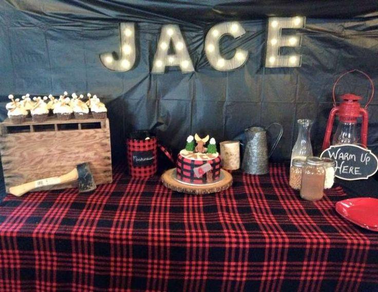 Jace is 4...lumberjack style!