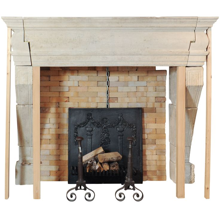A large 17th century french limestone castle fireplace mantel piece more fireplace mantel - Fireplace mantel piece ...