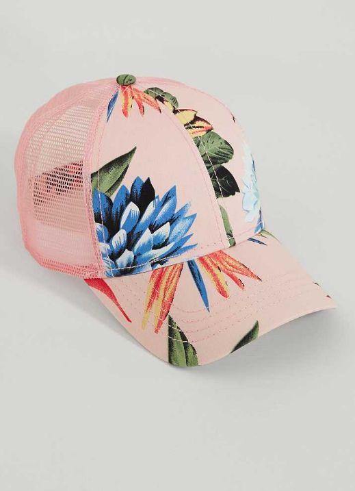 CC Floral Trucker Hat - Women's Accessories   Buckle