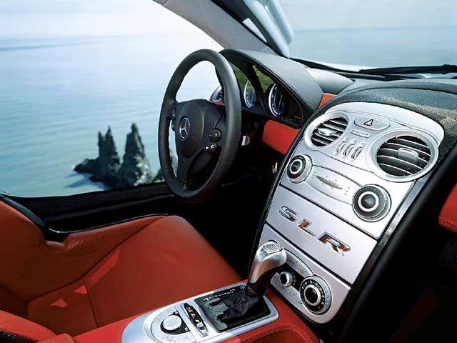 mercedes mclaren interior. 0404 09zmercedes benz slr mclareninterior view center console mercedes mclaren interior e