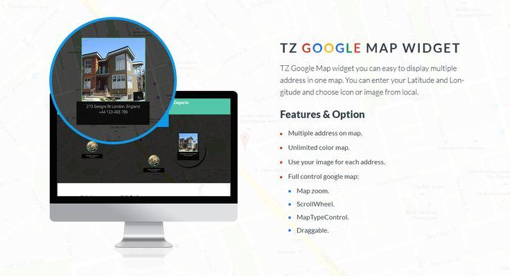 TZ Google Map Widget