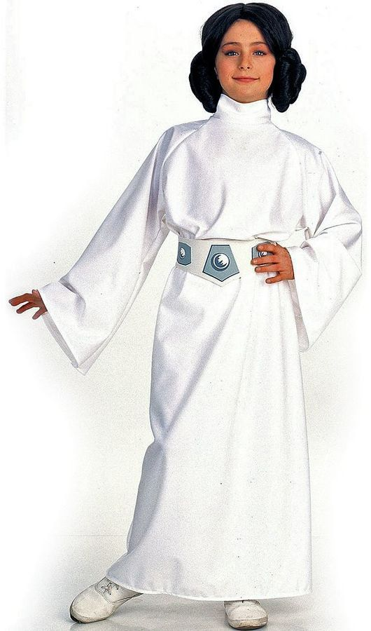 Pin for Later: 169 Warm Halloween Costume Ideas That Won't Leave Your Kids Freezing Star Wars Princes Leia Costume Star Wars Princes Leia Costume ($45)