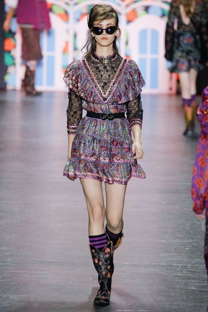 Anna Sui New York Spring/Summer 2017 Ready-To-Wear Collection | British Vogue