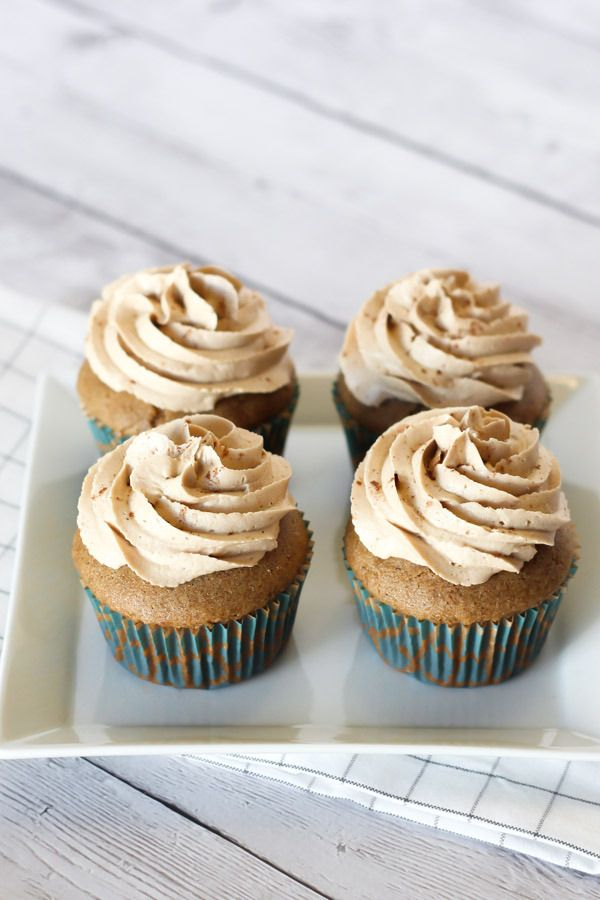 gluten free vegan dirty chai cupcakes2. ѼCQ glutenfree sweets treats desserts