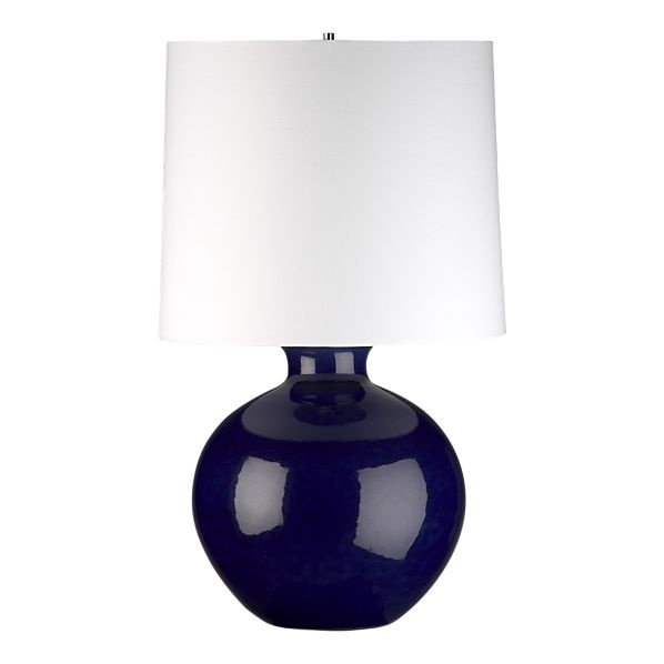 navy blue lamp for nursery baby stuff pinterest indigo lamp. Black Bedroom Furniture Sets. Home Design Ideas